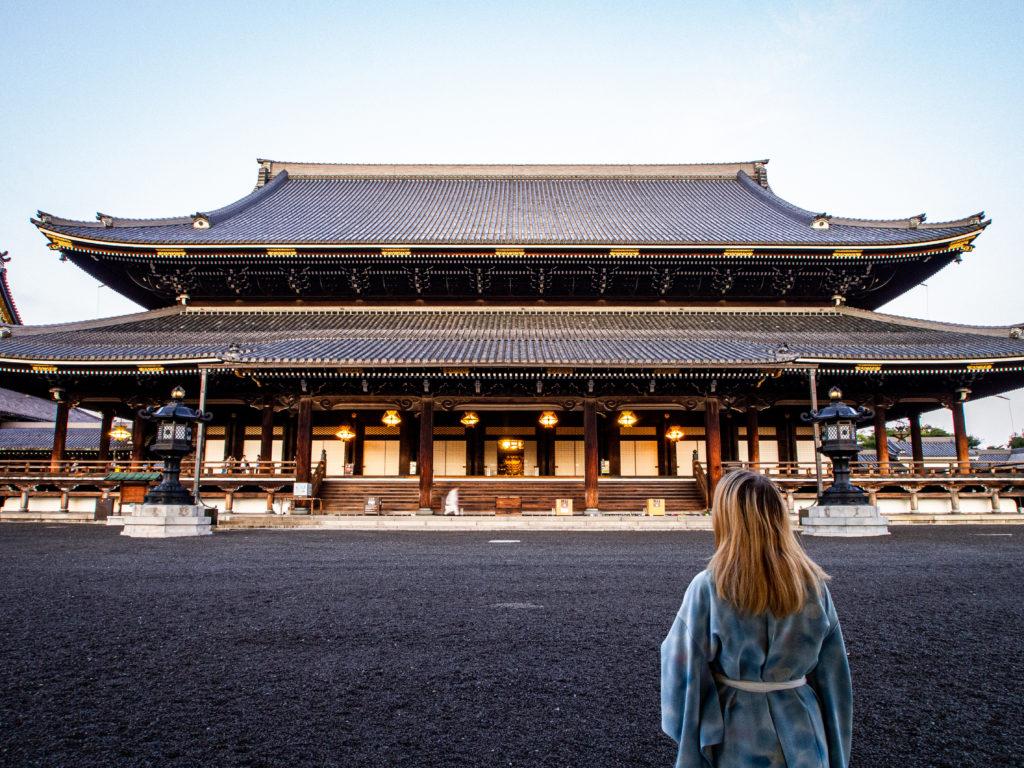 Samantha Bailly, en plein voyage au Japon